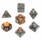 Gemini: Copper-Steel/ White 7-Die Set