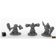Bloodstone Gnome Warriors (3) (Bones Black)