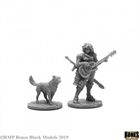 Isobael the Bard and Rufus (Bones Black)
