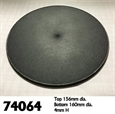 160mm Gargantuan Round Monster Base 6 inch
