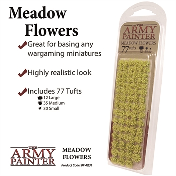 Meadow Flowers (77 Tufts)