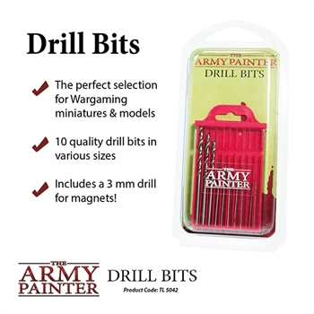 The Army Painter: Drill Bits 2019