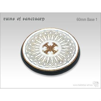 Ruins of Sanctuary - 60mm Round Base # 1
