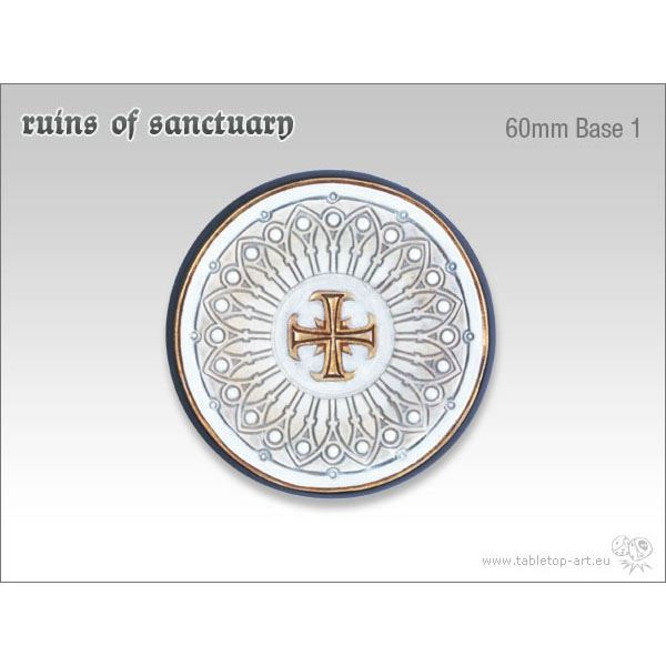 Ruins of Sanctuary - 60mm Round Base 1