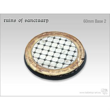 Ruins of Sanctuary - 60mm Round Base # 2