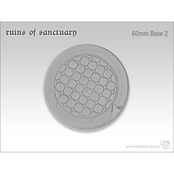 Ruins of Sanctuary - 60mm Round Base 2