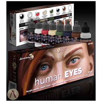 Scale 75 - Human Eyes Paint Set