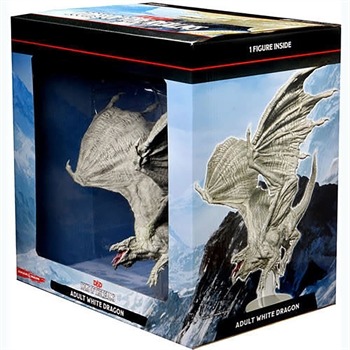 Icons of the Realms: Adult White Dragon Premium Figure