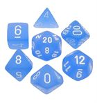 Frosted: Blue/White 7-Die Set