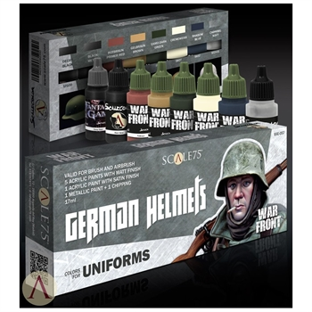 "Scale 75 - ""Warfront"" - German Helmets"