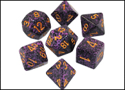 Speckled RPG Dice Sets