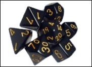 Opaque RPG Dice Sets