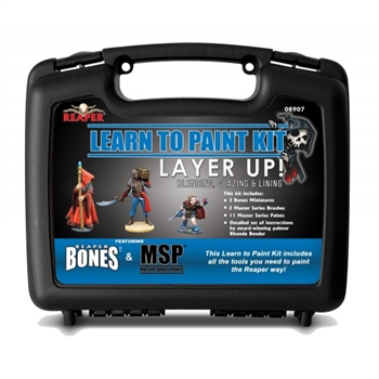 Learn To Paint Bones Kit: Layer Up!