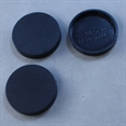 25mm Round Closed Bases - Straight Edge (20)