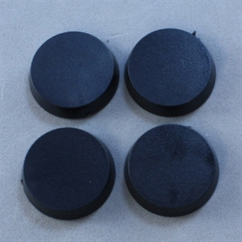 20mm Round Closed Bases - (25)