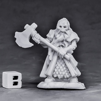Undead Dwarf Fighter (Bones)
