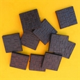 25mm Square Closed Textured Bases (10)