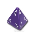 D4 - Purple/White (Single)