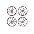 Cart Wheel Set (4)
