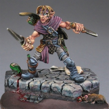 Dilean Softstep, Half Elf Rogue