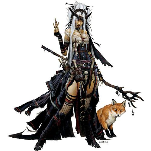 Feiya, Iconic Witch & Fox Familiar
