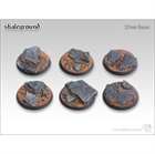 Shaleground - 32mm Round Bases