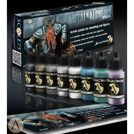 Scale 75 - Metal N\' Alchemy Steel Series
