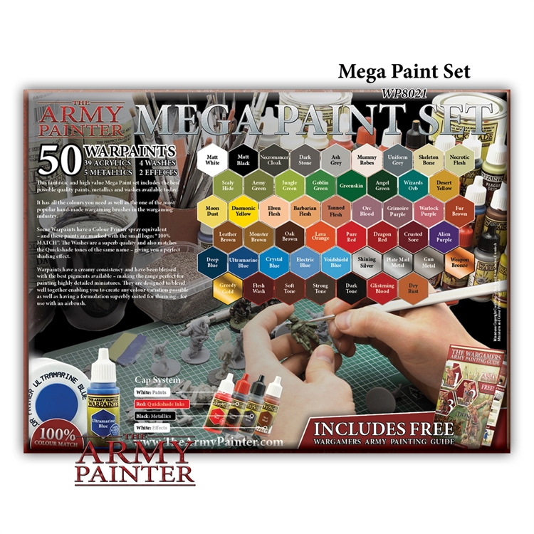 The Army Painter: Mega Paint Set - 2017 Edition