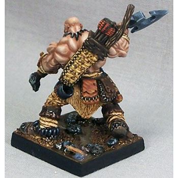 Model Kit Half-Orc Barbarian by Reaper Reaper Thelgar Halfblood