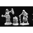 Townfolk of Dreadmere - Fishwife & Crone (3)