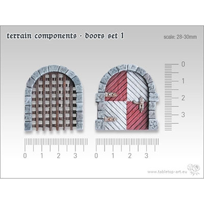 Terrain Components - Doors Set 1