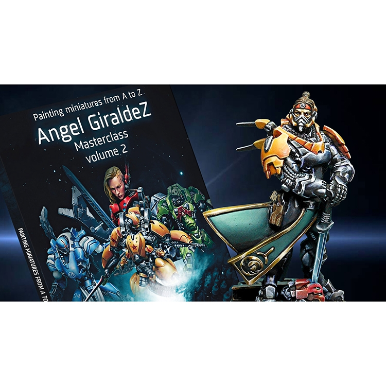 Painting-Miniatures from A to Z - Ángel Giráldez Masterclass Vol. 2