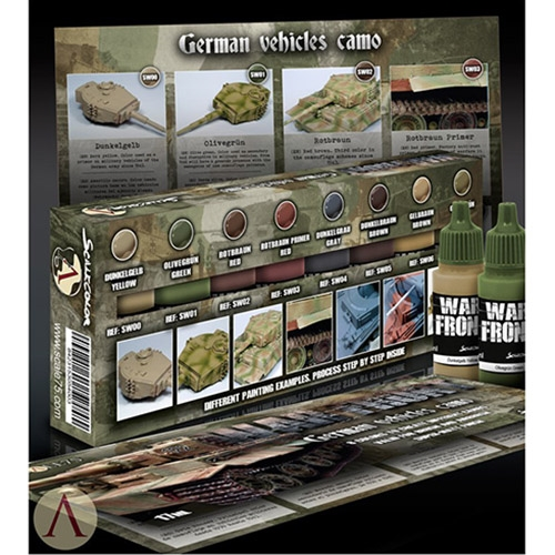 "Scale 75 - ""Warfront"" - German Vehicles Camo"