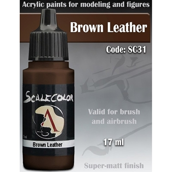 Brown Leather (Scale 75)