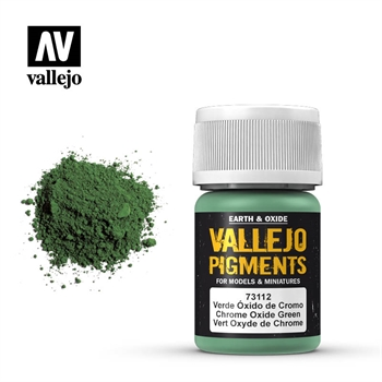 Vallejo Pigment: Chrome Oxide Green